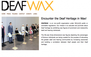 screenshot of Deafwax.com